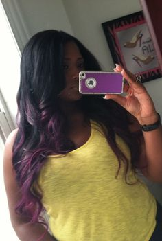 Purple ombre....beautiful!!!