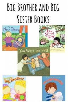 Big Brother and Big Sister Books: Preparing your Child for a New Baby Big Sister Books, Big Brother Gifts, Sisters Book, Brother Sister, Second Baby, 2nd Baby, Baby Boy, Baby Number 2, Preparing For Baby
