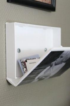 Capa de VHS para armazenar cartas e cartões.