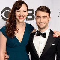 daniel radcliffe brings rumored flame to the 2014 tony awards