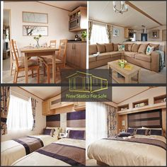 Spend the best #Holidays at our holiday homes! Come visit us at http://www.newstaticsforsale.co.uk/ for the latest in #Caravans