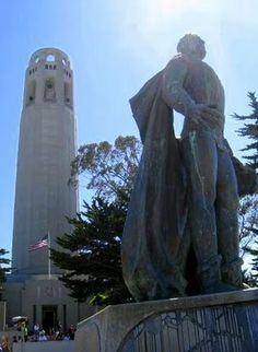 Coit Tower in California