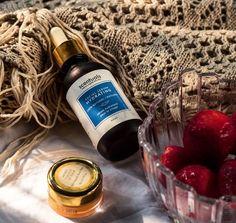 100% natural 📸 @180dumplinstreet.lab Safflower Oil, Jojoba Oil, Organic Argan Oil, Vitis Vinifera, Cleanser And Toner, Evening Primrose, Vitamin E Oil, Facial Serum, Melaleuca