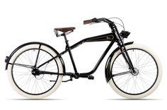 HAWK Bikes Ace - Retrocruiser Fahrrad Vintage Cruiser mit Kardanantrieb - 26 Zoll 7 Gang Shimano Nabenschaltung: Amazon.de: Sport & Freizeit