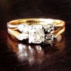 Vintage, circa early 1900's. Beautiful and understated!