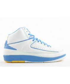 the best attitude 5316d 917eb Air Jordan 2 Retro Carmelo White Carolina Blue Varsity Maize 308308 141