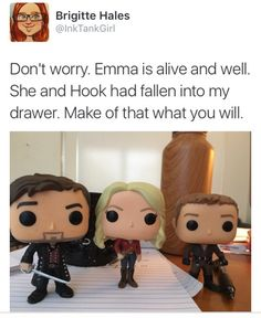"""captainswan-with-love: """"I like what Brigitte is laying down here. """""""