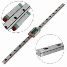 MGN12 12mm Miniature Linear Rail Slide + MGN12H Carriage For 3D Printer Sale…