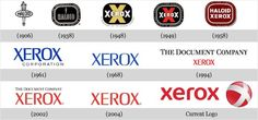 Xerox changed its 40-year logo in 2008 to the red, lower case logo with a sense of fun embedded in it.