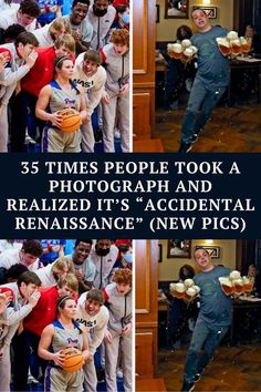 """The subreddit r/AccidentalRenaissance is the biggest online """"gallery"""" for these works — it showcases photographs Funny Corny Jokes, Crazy Funny Memes, Funny Facts, Hilarious, Laughing Jokes, Laughing So Hard, Moral Stories, Funny Stories, Ninja Funny"""