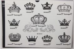 GGSELL 2012 latest new design Temporary Tattoo waterproof Crown totem tattoo sticker *** Click image for more details. (This is an affiliate link and I receive a commission for the sales) Crown Tattoo Men, Queen Crown Tattoo, Small Crown Tattoo, Crown Tattoo Design, Princess Crown Tattoos, Crown Tattoos For Women, Totem Tattoo, Body Art Tattoos, New Tattoos