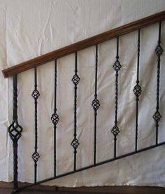 Image result for craftsman style iron handrails