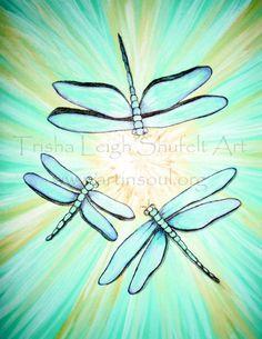 Dragonflies (c) Trisha Leigh Shufelt