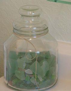 Jar of Seaglass