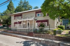 Placerville, Bedford Ave 2971-2977 10 units - Investor's Opportunity to own part of Placerville's history! First Apartment House Built in Placerville in the 1800's! 10 units, 3-lots & 3 buildings with plenty of parking. There are 4- 1bd/1ba units in tan home,4- 1bd/1 ba units in Blue home + Studio + a 1 bed/1ba Cottage! Beautiful setting with mature trees, an easy walk to Historic Main Street & public transportation. Easy commute location, just minutes to HWY 50. tours.ewalk.com/229214