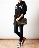 MISBHV | 'Trill' Motif Cotton Hooded Sweatshirt | Browns fashion & designer clothes & clothing