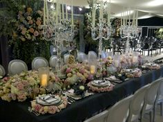 Gorgeous table setting from By Appointment Only design