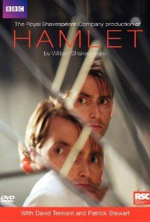 """""""Hamlet"""" (dir. Gregory Doran, 2009) --- The Royal Shakespeare Company puts a modern-spin on Shakespeare's Hamlet, in this filmed for television version of their stage production. The Prince of Denmark (David Tennant) seeks vengeance after his father is murdered by his uncle (Patrick Stewart) and his mother marries the murderer."""
