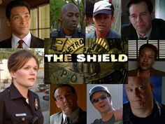 The Shield- - -this doesn't show the many guest stars that made this show da' bomb !!