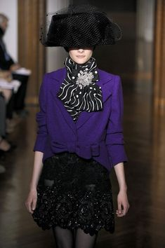 Christian Lacroix at Couture Fall 2009 - Runway Photos