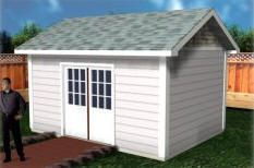 Steel shed construction tips diy shed alarm,shed drawing plans build a wood shed lean to shed plans free diy shed budget. Backyard Storage Sheds, Garden Storage Shed, Garden Sheds, Outdoor Storage, Garden Art, Storage Building Plans, Storage Shed Plans, Building Ideas, Wood Shed Plans