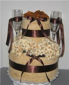 how do you put a wedding cake together 1000 ideas about towel cakes on kitchen towel 15395