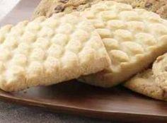 Panera Bread Butter Shortbread Cookies #recipe