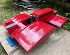 Ground Effects, Radio Control, Planes, Boats, Red, Airplanes, Ships, Plane, Boat