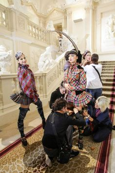Punk Grand-plié - Vivienne Westwood for the costumes of the Wien State Ballet at the New Year's concert by the Wien Philarmonic Orchestra