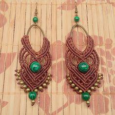 #macrame #macrameearrings #macramejewelry #micromacrame #vintage #boho #gypsy #bohemian #hippie