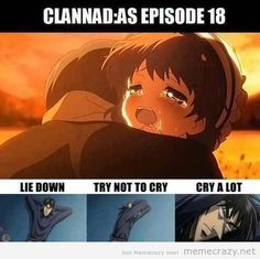 clannad sad meme - Google Search