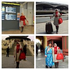 My Hijab..My Style ~ By ArieAnoy in Beijing, China