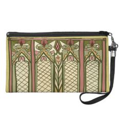 Wristlet with style.