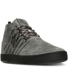 K-Swiss Men s D-R-Cinch Utilitarian Casual Sneakers from Finish Line Men -  Finish Line Athletic Shoes - Macy s c6f29bcdae7