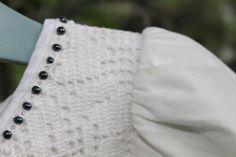 Dåpskjole av gjenbruksmaterialer! Design: Randi Ballangrud
