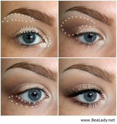 How To Apply Eye Makeup and Make it Look Natural and make your makeup on point