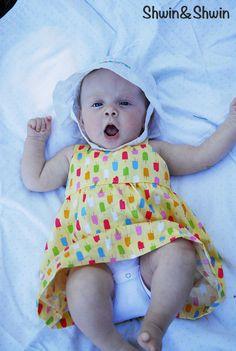 Shwin&Shwin: Summer Breeze Baby Dress {Free PDF Pattern}