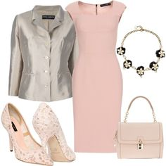 """What a gorgeous outfit!  """"Dolce & Gabbana totally"""" by dgia on Polyvore"""