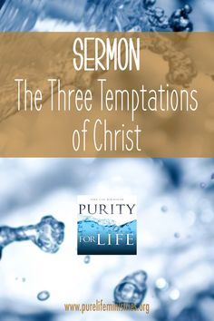 Did you ever think you wouldn't be tempted again? It's often discouraging when we realize that temptation is going to be an ongoing part of the Christian life. In a recent chapel service, we examined each of the temptations that Jesus faced. Join us as we look to the Author of our faith and learn how to effectively resist the devil's schemes.