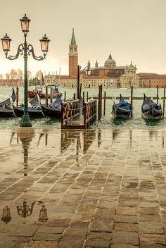 Dia chuvoso, Veneza, Itália