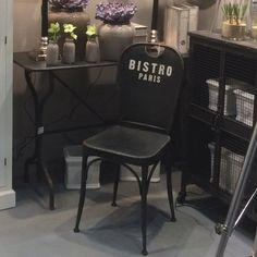 LOFT krzesło BISTRO - metalowe krzesło Bistro Paris - NieMaJakwDomu