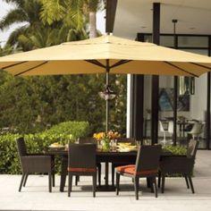 Delightful Easy Shade Outdoor Umbrella