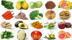 liste des aliments bons pour la santé du foie