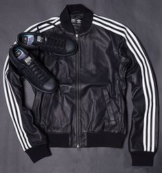 adidasPharrellSolid2 the monochromatic look emphasizes the colour and varying textures.