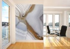 Modern wall design – great wallpaper trends that you should definitely try - Home Design Ideas L Wallpaper, Watercolor Wallpaper, Custom Wallpaper, Modern Interior Design, Modern Wall, Open Plan, Decoration, Interior Decorating, Decorating Ideas