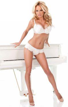 Pamela Anderson hits the white note modelling for Bonita De Mas | The Sun |Showbiz|TV