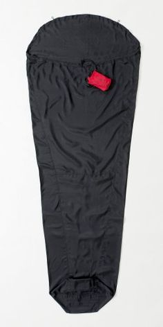 Cocoon Expedition Liner-RipStop Silk MummyLiner (Black, 85-Inch x 33/19-Inch) ** Read more reviews of the product by visiting the link on the image.