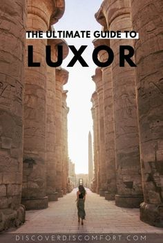 Luxor is often described as being a museum unto itself and a must visit if you're in Egypt. With all that history around you, and the inevitably limited time, it's important to know what to see for the best experience. We put together a lot of research an Travel Advice, Travel Guides, Travel Tips, Solo Travel, Travel Hacks, Luxor Temple, Luxor Egypt, Pyramids Egypt, Egypt Travel