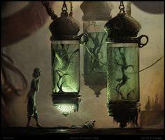 concept art that tells a story