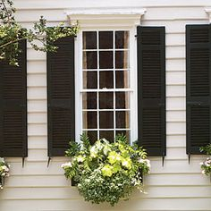 Add Charm with Window Boxes | Look Cool for Summer | SouthernLiving.com